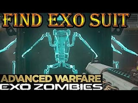 Exo Zombies Carrier Find Exo Suit Call Of Duty Advanced Warfare Exo Zombies Youtube