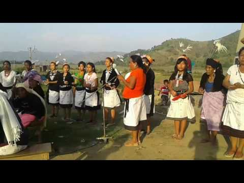 maring traditional dance.only for tourism  women festival 2017