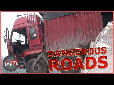 7 Of The Worlds Most Dangerous Roads
