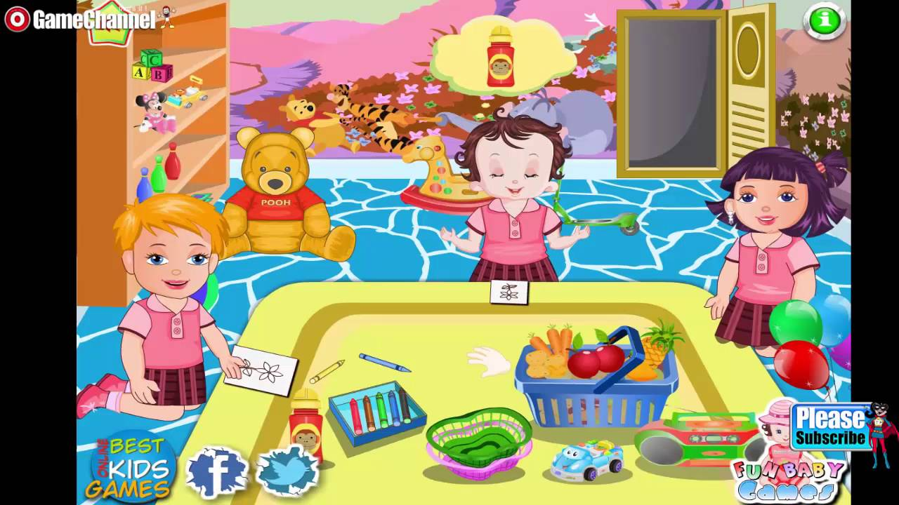Baby Lisi Preschool Day Online Free Flash Games Video -7435