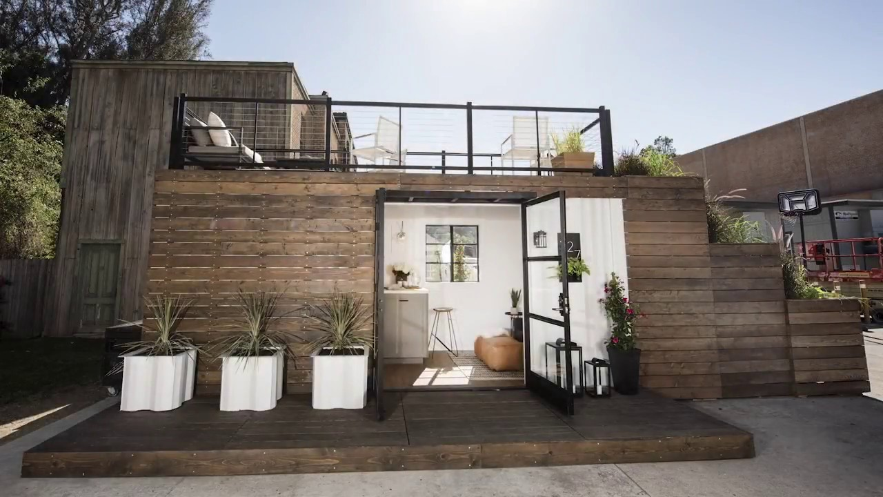 Design Container Haus Container Home Built Before Your Eyes