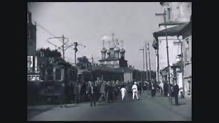 Смотреть видео Красиво, достойно жили. Москва, 1934 год.  Улицы убраны, люди опрятно и по моде одеты. онлайн