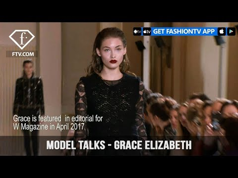 Model Talks Paris Fall/Winter 2017-18 Grace Elizabeth | FashionTV
