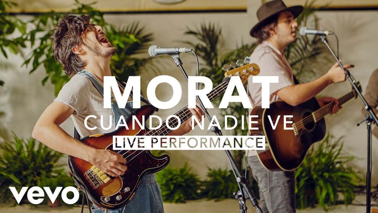Morat - Cuando Nadie Ve (Live) | Vevo X