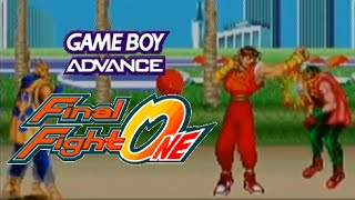 Final Fight One playthrough (GBA)