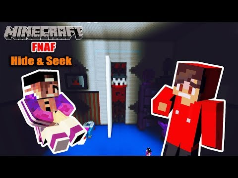 Minecraft: VERSTECKEN SPIELEN BEI FIVE NIGHTS AT FREDDY'S! Kaan + Nina Hide And Seek im Gruselzimmer thumbnail