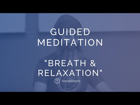 EASY Breath Meditation for Beginners - Deal with stress and anxiety - Guided Meditation