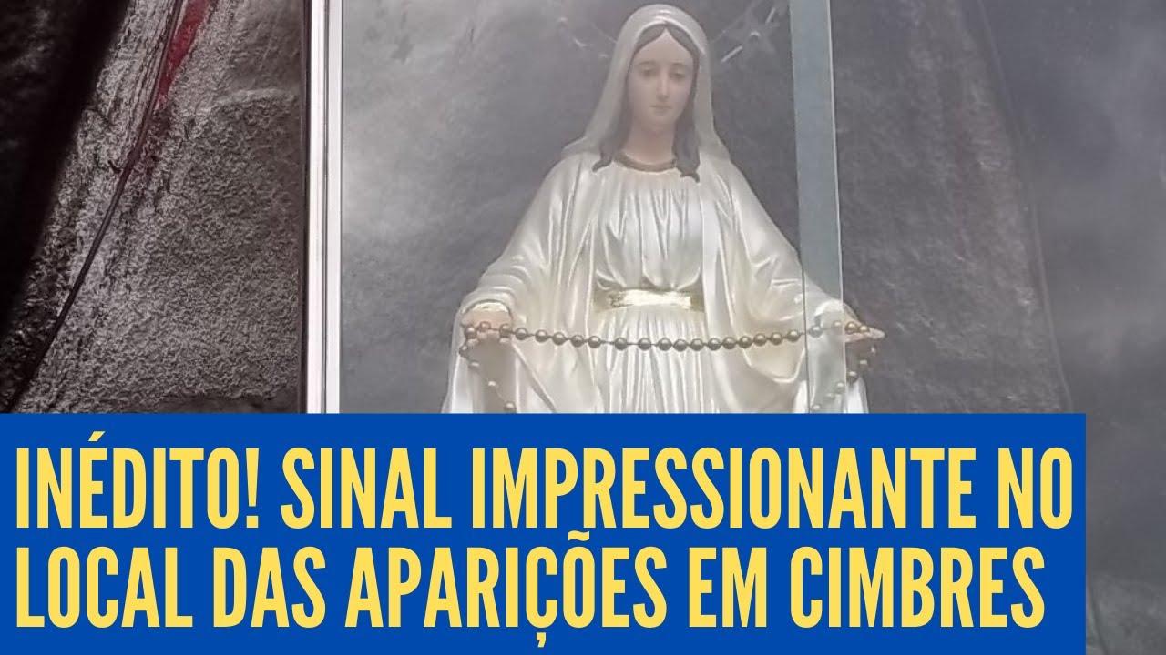 SINAL DE NOSSA SENHORA no Local das Aparições EM CIMBRES