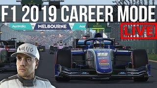 F1 2019 - Starting Our New 100% Career Mode | WANGLEBORK RETURNS