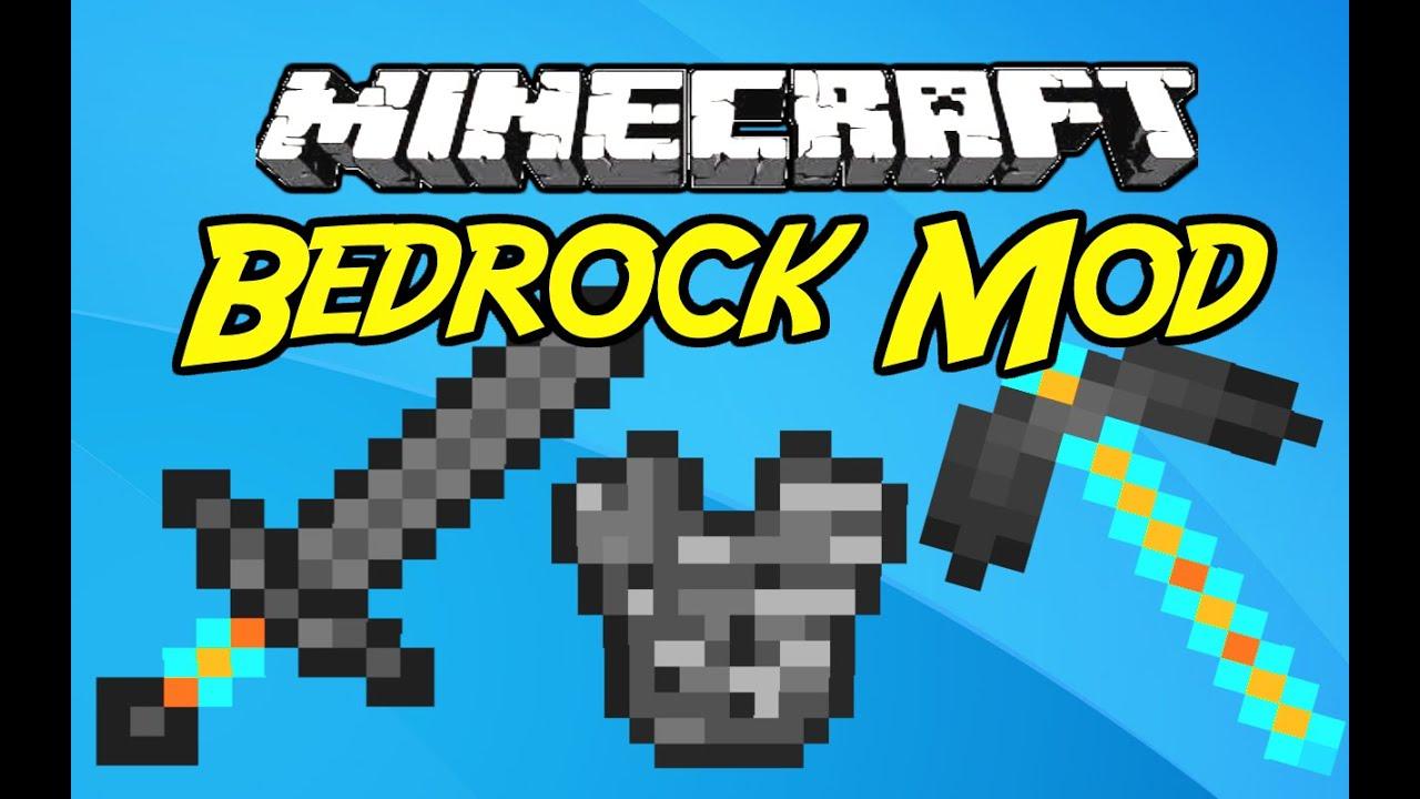 "Minecraft Mods: "" Bedrock Mod 1. 7 .10 "" - YouTube"