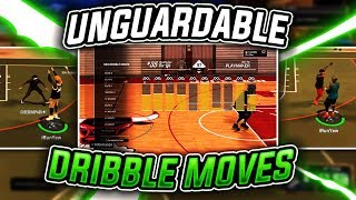 NEW UNGUARDABLE DRIBBLE MOVES ON NBA 2K17 • NEW UNRELEASED HOP JUMPER • NBA 2K17 MYPARK