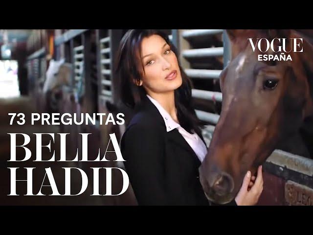 73 preguntas a Bella Hadid | VOGUE España
