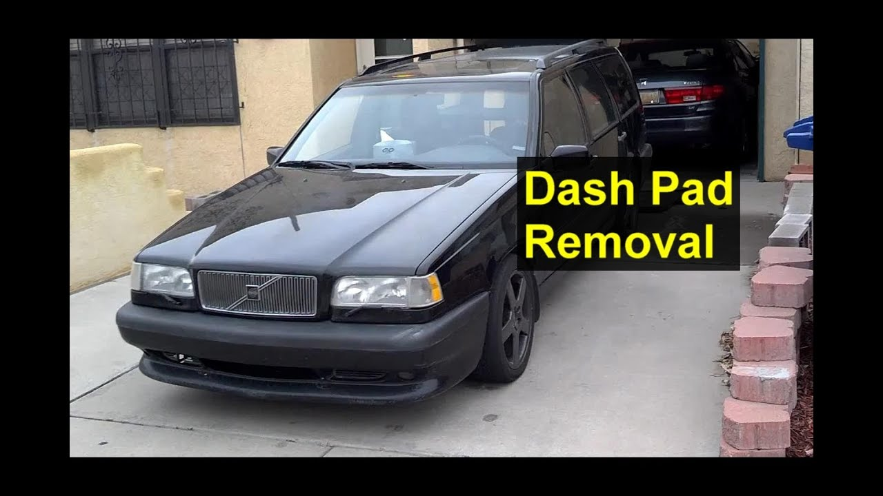 maxresdefault dash pad removal and installation, volvo 850 auto repair series Volvo 850 Engine Diagram at webbmarketing.co