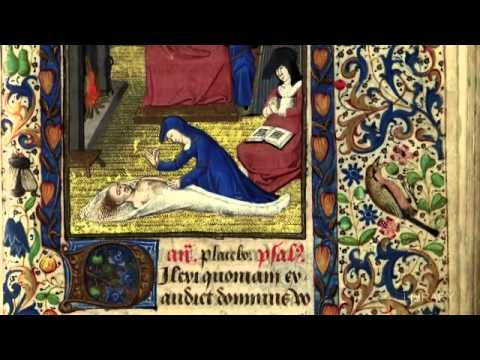 Book of Hours. Circa 1460-1465, part of the University of Sydney Library Rare Books Collection