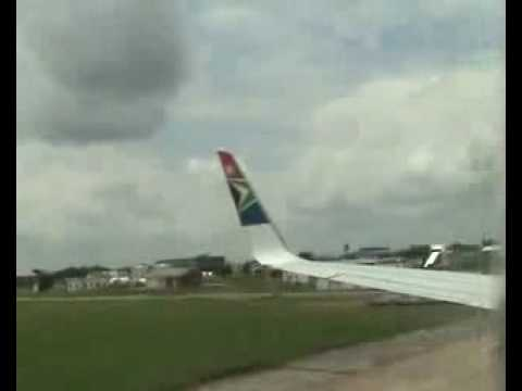 South African hits a car with winglets!