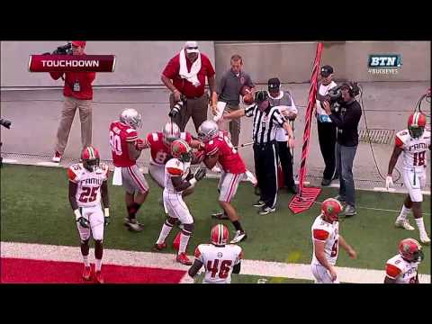 Heuerman Lowers the Boom on TD Catch