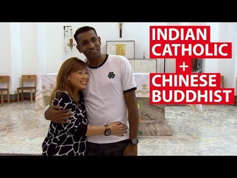 Indian Catholic + Chinese Buddhist | On The Red Dot | CNA Insider