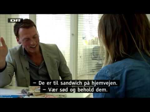 """Reporter Signe Molde, om Århus' nye slogan """"Danish for Progress"""""""