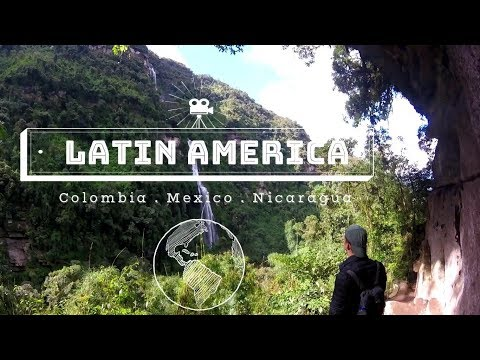 Travelling | Colombia, Mexico, Nicaragua | GoPro HD