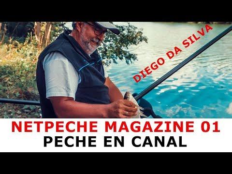 Netpeche Magazine 01 - Pêche au coup en canal avec Diego Da Silva