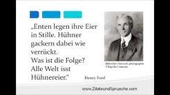 [Video] Henry Ford Zitate zum Thema Werbung