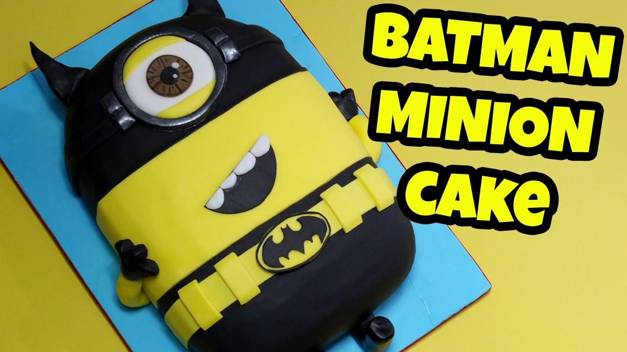 How To Make A Batman Birthday Cake