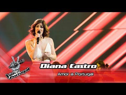 Diana Castro - 'Amor a Portugal'   Final   The Voice Portugal