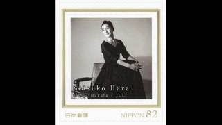 Setsuko Hara 1920-2015, Japanese actress Pre-stamped picture postca...