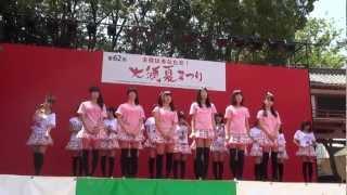 2012.8.4 大須夏まつり 大須観音特設ステージにて 3期生ブログ ◇大野咲...