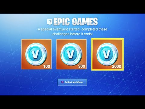 The NEW Fortnite FREE DAILY REWARDS! (New Free V-Bucks Challenges)