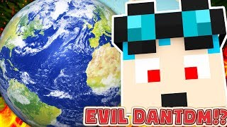 EVIL DANTDM TAKES OVER THE WORLD! thumbnail