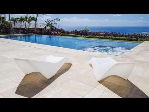 Modern Luxury on Hawaii Loa Ridge with Sweeping Views