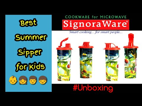 Signoraware Sipper for Kids # Unboxing