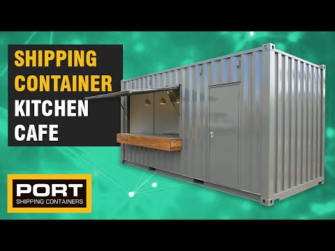 We Converted A Shipping Container Into A Portable Kitchen - Port Shipping Containers