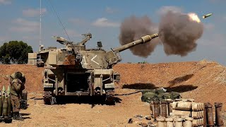 Israeli-Palestinian violence rages as Israeli troops mass along border for possible ground operation