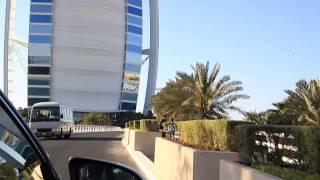 VIAJANDO CON TORRES, DUBAI  LLEGANDO AL HOTEL BURJ AL ARAB