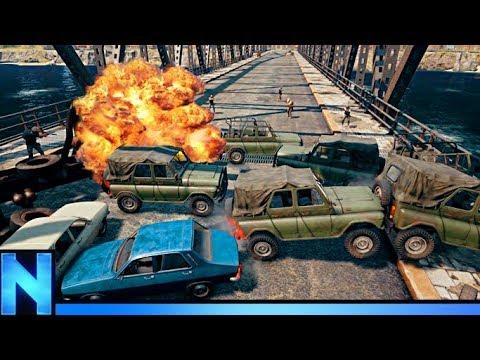 Bridge Ambush Kills EVERY PLAYER - PUBG