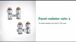 Thermostatic Radiator Valves for Panel Style Radiators(http://www.caleffi.us - Thermostatic Radiator Valves for Panel Style Radiators How to assemble a control head to a panel radiator, how to adjust temperature ..., 2012-09-20T09:44:30.000Z)