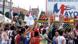 Primero de mayo en Pinar del Río, Cuba 2015