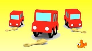 LOST LITTLE CARS! - Cartoon Cars - Animation for kids