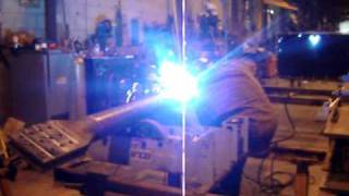 Welding a Cast ConneX® High-Strength Connector™ to an HSS brace element