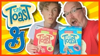 ♥ Tiny Toast ♥ Strawberry & Blueberry Review with Ben and Ken | KBDProductionsTV