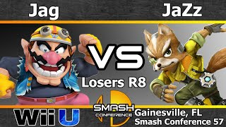Jag (Wario) vs. JaZz (Fox) - Losers R8 - SC57(Smash Conference is Gainesville and UF's weekly Super Smash Bros fest hosted by MVG_League and Gator Gaming. The event showcases some of the best ..., 2016-04-02T04:47:03.000Z)