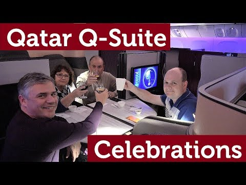 Qatar NEW Q-Suite Business Class