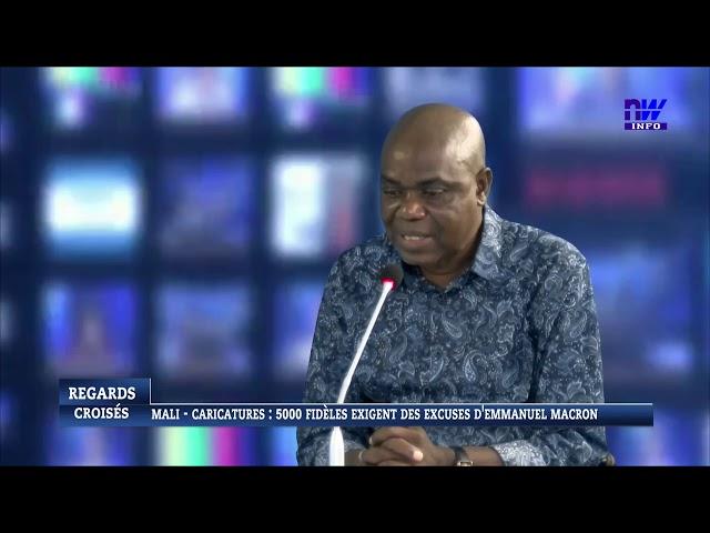 MALI - CARICATURES : 5000 fidèles exigent les excuses d' EMMANUEL MACRON (P1)