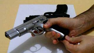 Repeat youtube video CZ 75B STAINLESS STEEL & BERETTA 90 TWO- 9MM.AVI