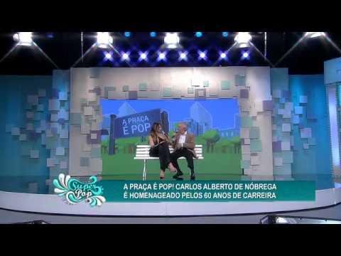 Super Pop 14/07/2014 - Carlos Alberto De Nóbrega Já Flagrou Figurante Sem Calcinha Na 'Praça'