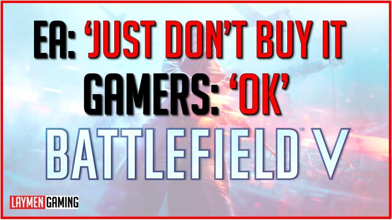 Battlefield V Retail Sales Down 50% vs Battlefield One