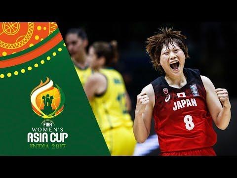 Australia v Japan - Full Game - Final - FIBA Women's Asia Cup 2017