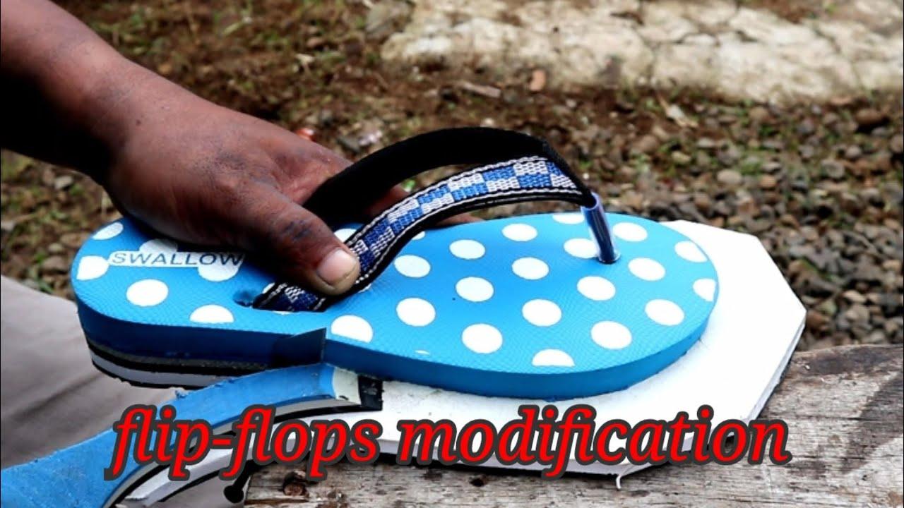 flip flops modification